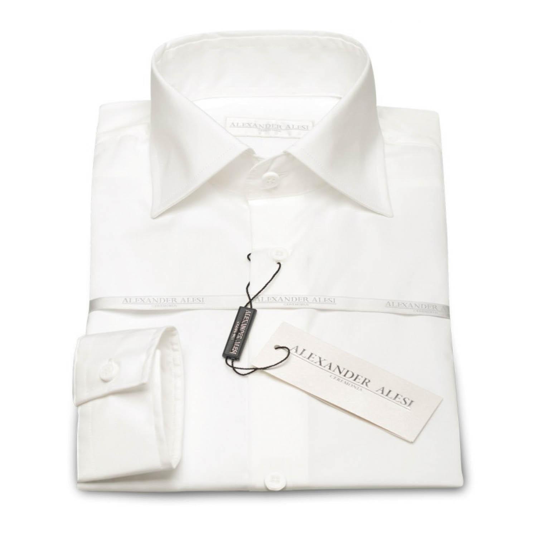 Overhemd Extra Mouwlengte.Off White Overhemd Alexander Alesi Extra Lange Mouwlengte Van 71 Cm