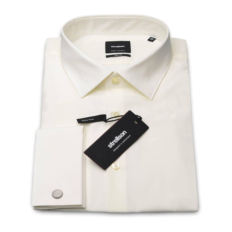 Heren Overhemd Met Manchetknopen.Overhemden Voor De Bruidegom Roka